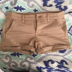 Selling this 💚LOWEST💚 💜MUST GO💜 Tan Shorts on Poshmark! My username is: hpogants. #shopmycloset #poshmark #fashion #shopping #style #forsale #American Eagle Outfitters #Pants