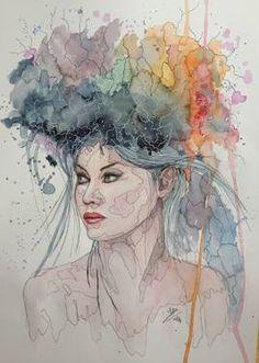 Watercolor Paintings | Original Art | Saatchi Art