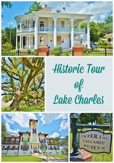 Life With 4 Boys: A Historic Tour of Lake Charles, Louisiana #Travel #Louisiana