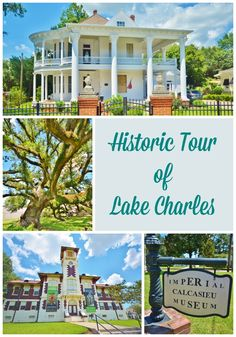 Life With 4 Boys: A Historic Tour of Lake Charles, Louisiana #Travel #Louisiana