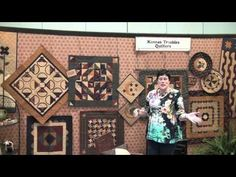 Had so much fun meeting Lynn from Kansas Troubles. Here's her booth from Spring 2012 Quilt Market.