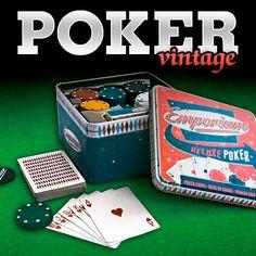 Juego de poker vintage de lujo | Tecniac