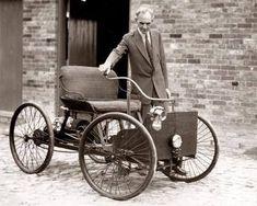 Henry Ford and the Detroit Automobile Co., Henry Ford Co. and The Ford Motor Co. Vintage Cars, Vintage Photos, Antique Cars, Pagani Huayra, Ferrari F40, Lamborghini Gallardo, Bugatti, Rare Historical Photos, Ford Classic Cars