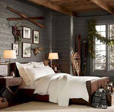 Rustic farmhouse master bedroom design & decor ideas (37)