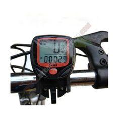 Cuentakilometros LCD digital para Bicicletas - Con este Cuentakilometros LCD digital para Bicicletas ya no tienes problema para saber cuanta distancia recorres en tus agradables paseos en bicicleta. Cuenta un una amplia gama de funciones que le dan prácticamente todos los datos de navegación necesitas, incluyendo la temperatura ambiente.