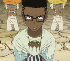 Kilik, Fire, and Thunder | I feel like Ox, Kilik, and Kim were really underappreciated in the anime, they were actually pretty significant at times in the manga. And pretty cool.
