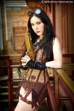 Steampunk - Regina Yuriko by reginayuriko.deviantart.com on @DeviantArt