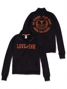 LOVE!!!!    Victoria's Secret PINK University of Texas Track Jacket #VictoriasSecret http://www.victoriassecret.com/pink/university-of-texas/university-of-texas-track-jacket-victorias-secret-pink?ProductID=82741=OLS?cm_mmc=pinterest-_-product-_-x-_-x