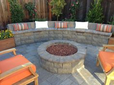 Fire pits have come a long way since your dad dug a hole in the back yard and tossed in some firewood. Today's fire pits are stylish and elegant, made of different types of materials and often surrounded by sitting walls. http://www.aboveandbeyondcgm.com/wood-fire-pit-gas-fire-pit-question