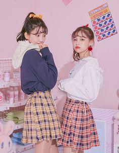 Check check check skirt | dress & skirt | Ice 12 (icecream12)