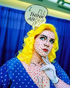 costume by roy lichtenstein