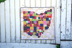 Ohio Quilt | Miss Make (with link to tutorial for design instructions - I'd like to make a Saskatchewan quilt using this method)