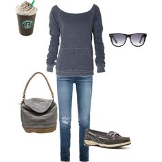 Lazy day, created by cs1398 on Polyvore