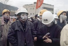 These intense pictures of Japanese anarchists rioting in the 1960s show chaos in the streets