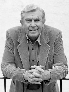 """Andrew Samuel """"Andy"""" Griffith (June 1, 1926-July 3, 2012) was an American actor, director, producer, Grammy Award-winning Southern-gospel singer, and writer. Best known for his TV roles in the Andy Griffin and Matlock series.  He receive the Freedom Award from President George W. Bush at the White House in November 2005."""