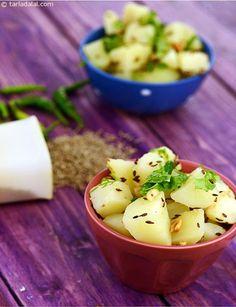 Batata chi Bhaji is a no-fuss preparation of potatoes perked up with ...