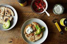 Feta Quesadillas with Fresh Pico de Gallo and Avocado Recipe on Food52