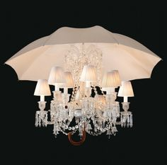 """Philippe Starck ~ """"Marie Coquine"""", Baccarat  {Gorgeous. Utterly gorgeous. The last chandelier I will ever need for my dream bedroom.}"""