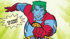Have recycling bins with Captain Planet