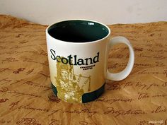 My Starbucks location mugs :) Scotland
