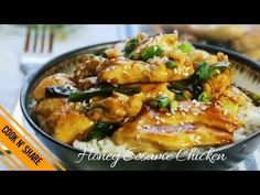Honey Sesame Chicken - Dinner in 30 Minutes Healthy Sesame Chicken, Honey Sesame Chicken, Midweek Meals, Easy Meals, Cook N, Asian Recipes, Ethnic Recipes, Special Recipes, Healthy Dinner Recipes