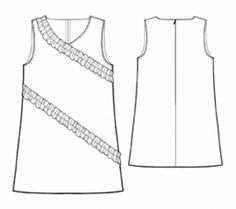 Free sundress pattern (There are a lot of free patterns on this site. I wonder how they fit.)