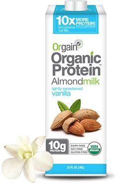 Orgain Organic Protein Almond Milk - Lightly Sweetened Vanilla