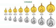 """Medaglia realizzabile in argento ed in oro """"Madonna del Cimabue"""""""
