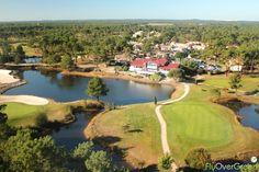 Golf de Gujan-Mestras, Gironde, Nouvelle-Aquitaine, France. Vidéo aérienne sur FlyOverGreen / Aerial video on FlyOverGreen