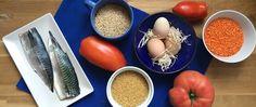 Pescados azules, cereales integrales, huevos y verduras de temporada son algunos…