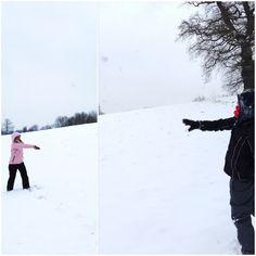 Snow! http://thelittlethingblog.blogspot.co.uk/2013/01/snow_20.html