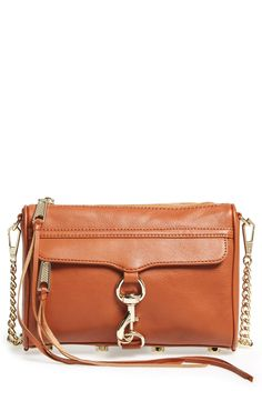 I like this color or a light gray/taupe - They go on sale all the time. Rebecca Minkoff 'Mini MAC' Crossbody Bag