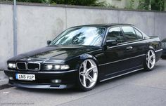 1998 BMW 740iL On Rims Find the Classic Rims of Your Dreams - www.allcarwheels.com