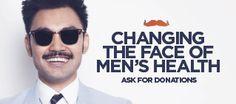 Movember United States - Home Movember Mustache, Raise Funds, Male Face, United Kingdom, Bathrooms, Mens Sunglasses, United States, Events