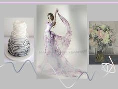 Pink & Grey wedding by MARINA MANSANTA...