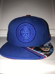 New era marvel captain America vivid vize snapback 52d3ceb9614