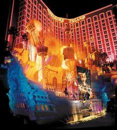 Sirens of TI show at Treasure Island Hotel  Casino