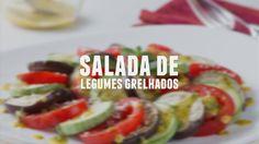 Salada de legumes grelhados | Receitas Saudáveis - Lucilia Diniz