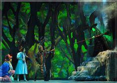 wizard of oz set design ideas   Wizard of Oz set Design by Richard Finkelstein, Stage Designer