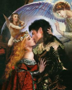 The Fairy Tale Art of Howard David Johnmson; Contemporary fairy tale and story book illustrations.