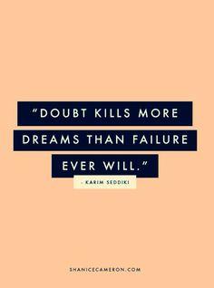 Doubt..