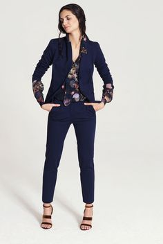 PIU & PIU Bluse Blazer Hose