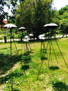 Flying woks, I got a wonderful feeling of far eastern UFOs