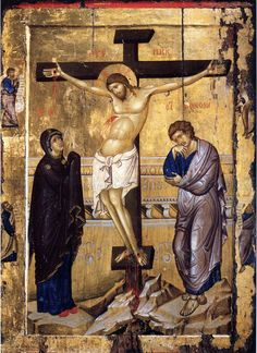 The Crucifixion of Christ  ( source )         The Lord accomplished our salvation by His death on the Cross: on the Cross He tore up th...