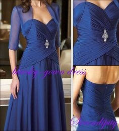 Mother of the Bride or Groom Dress Wedding Long Evening Formal Party dresses New #Dress