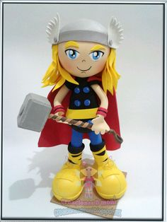 Ironman, Thor y capitan America Ironman, Lalaloopsy, Under The Sea, Hulk, Thor, Paper Art, Avengers, Crafts For Kids, Handicraft