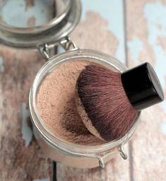 puder selber machen, selbstgemachte schminke aus naturprodukten, bio schminke