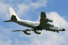 An RAF Boeing Rivet Joint RC-135W aircraft in flight over RAF Waddington.The 3 aircraft, converted by L-3IS in Greenville, Texas, from a Boeing KC-135 tanker, have been bought directly from the US government at a cost of around £650 million. [Picture: Sergeant Si Pugsley RAF, Crown copyright]