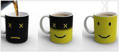 Friendly Monday mug, hot magical smile
