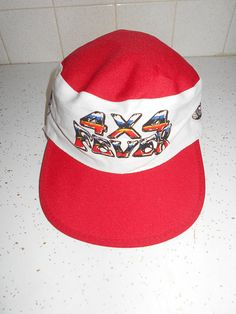 9166123d Vintage 70s 80s 4X4 Fever Truck Painters Cap Hat Red Truckin Adjustable  Adult One Size Retro Hipster 1980s Unisex